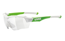 UVEX sgl 104 vario Sportbrille white green